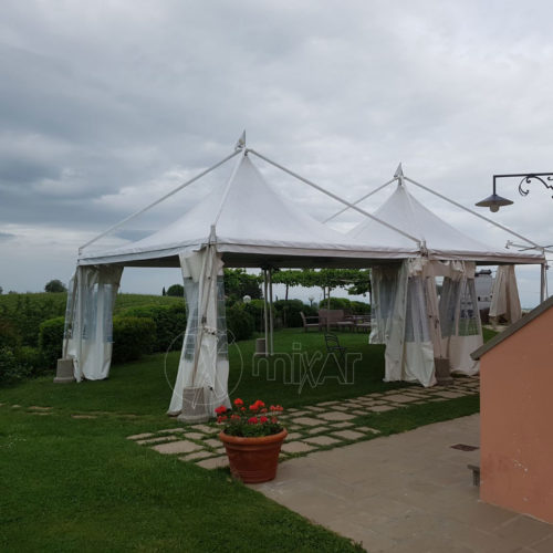 gazebo pagoda 5X5 per wedding party ricevimenti di nozze