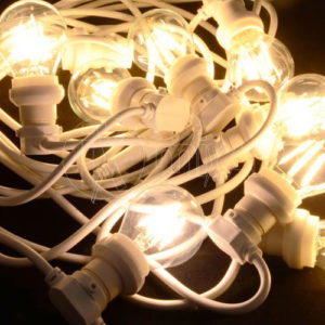 Cordone con lampade bulbs per illuminazione vintage Style