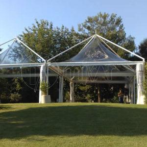 gazebo pagoda 5x5 Cristal wedding party ricevimenti di nozze