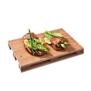 Vassoio PALLET in legno 30x20 cm