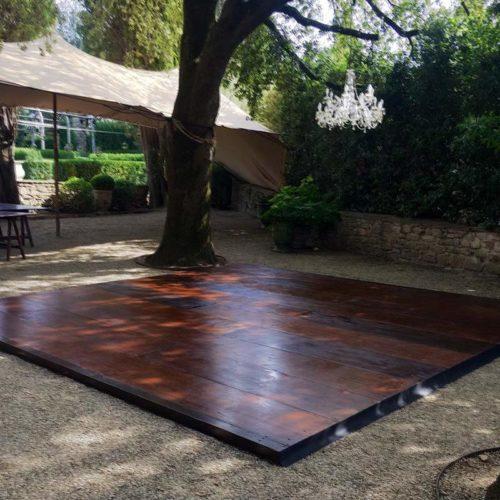 pedana legno pista da ballo per eventi