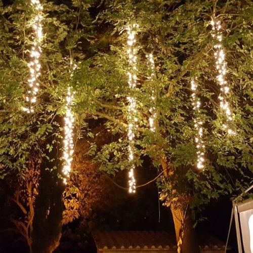 Grappoli LED pendenti