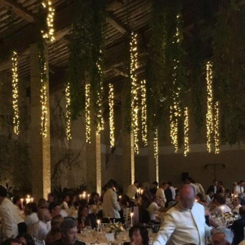 noleggio e service luci per matrimoni in toscana