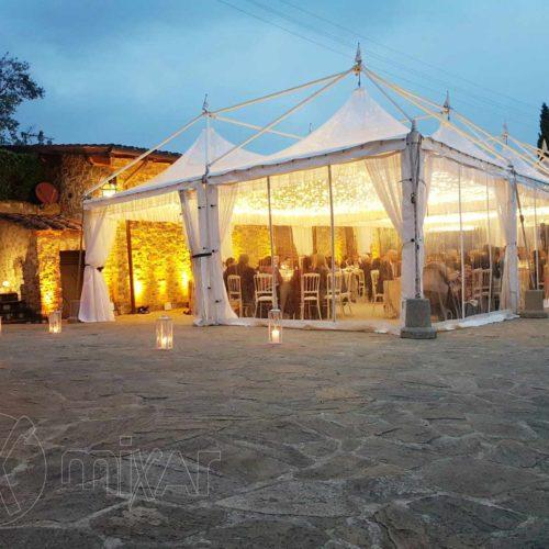 Pagoda Cristal 4X4 per matrimoni e feste private